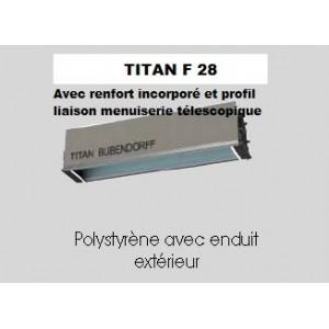 COFFRE TITAN INTEGRE F 28 jusqu'à 5 mètres ( 3.9 kg/ml).