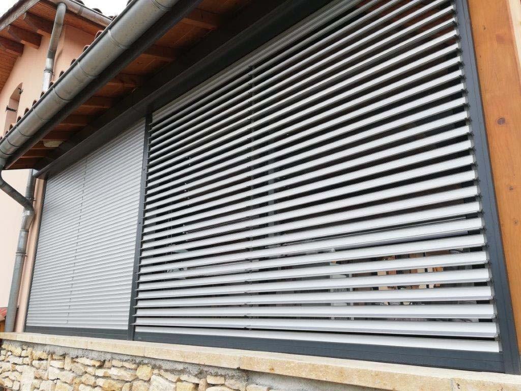 Volet Roulant Solar Bubendorff Lames Orientables Monobloc Renovation