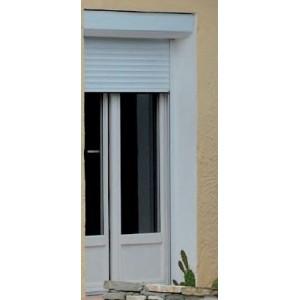 VOLET ROULANT MONOBLOC TIRAGE DIRECT - RÉNOVATION BUBENDORFF-NELTO-Coffre 1 x 20° hauteur H 142 à 172 mm