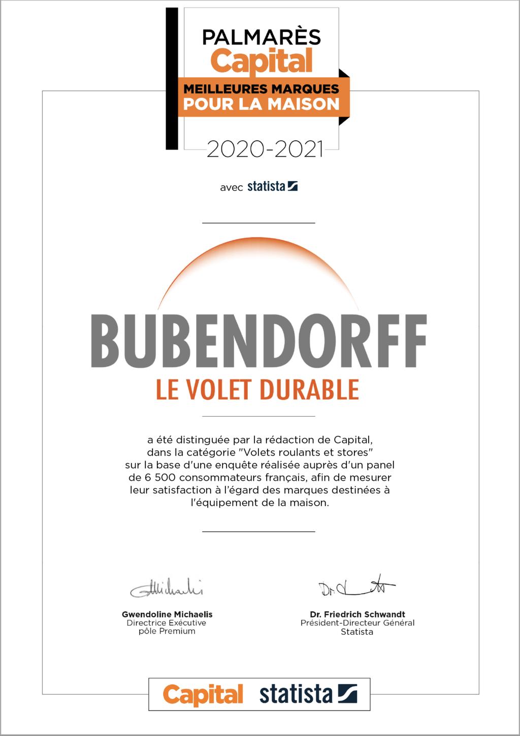 Qualité Bubendorff